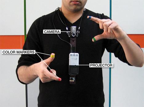 sixthsense virtual interaction tool