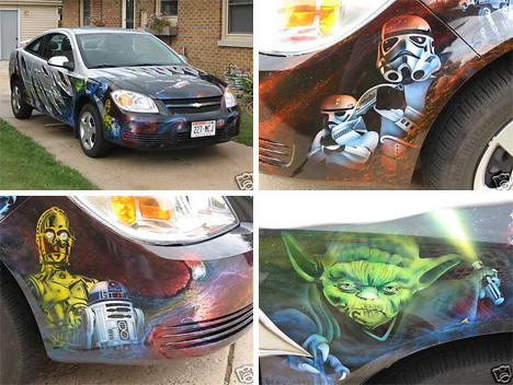star wars art car