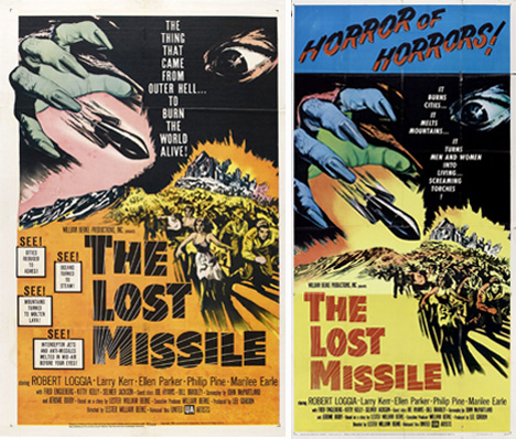 the lost missile movie poster