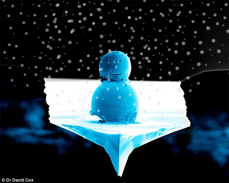 tiny snowman