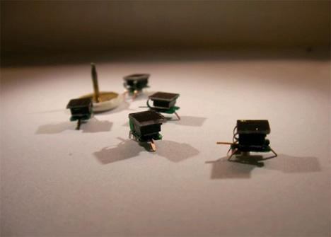 tiny swarming micro robots