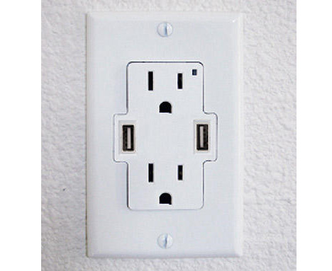 true power usb wall outlet