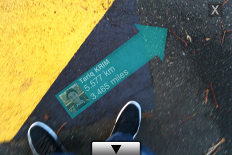 twitter 360 augmented reality app