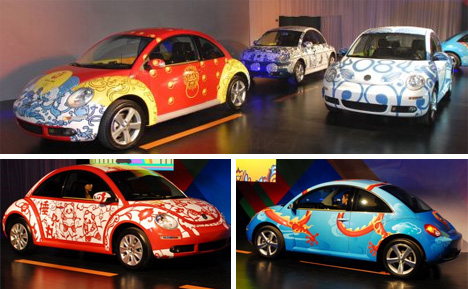 volkswagen art cars
