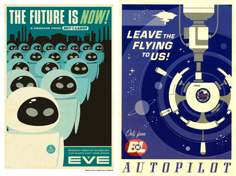 wall-e movie posters 1
