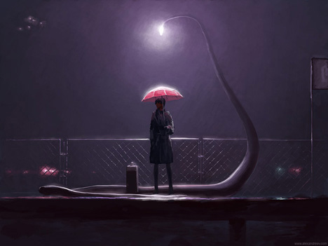 alex andreyev streetlight snake