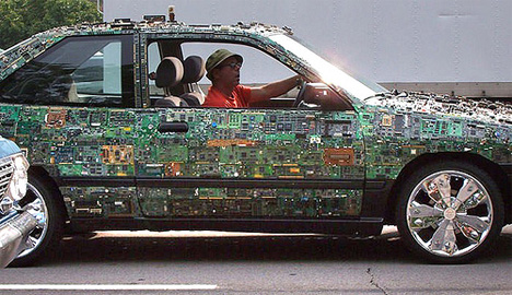 circuit board car