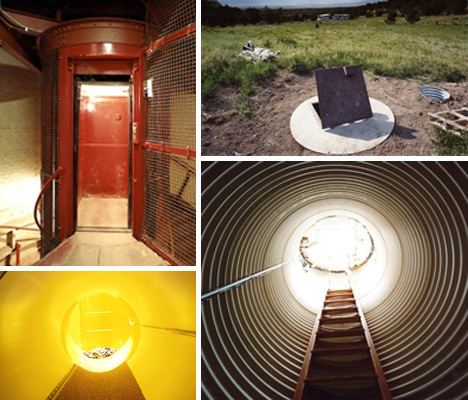 end of the world bomb shelters