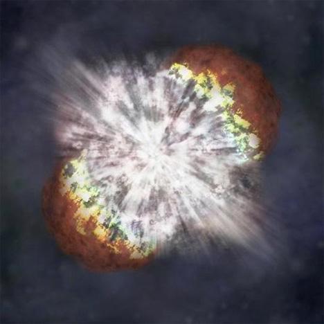 hyper-giant supernova