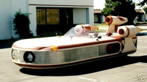 landspeeder car