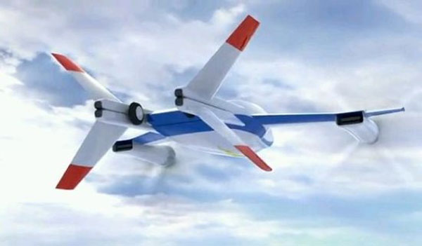 NASA's Ultra-Efficient, Super-Quiet, One-Man Electric Aircraft | Gadgets, Science & Technology