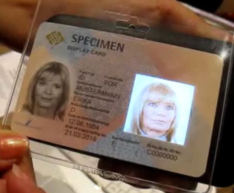 staying ahead of authorities holographic head id card
