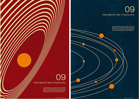 Math art retro futuristic minimalist space posters for Outer space poster design