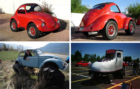 vw beetle modifications