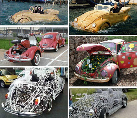 vw beetle transformations