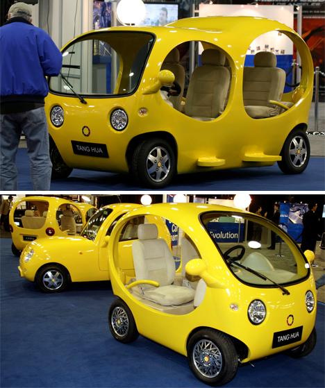 A Bubbly Future: 4 Weird Futuristic Electric Car Concepts