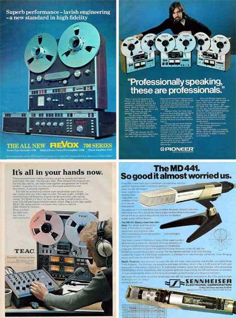 Historic Sounds Fabulous Vintage Audio Advertisements