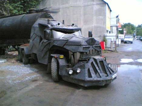 In Russia Truck Drives You Crazy Dragon Semi Truck Mod Gadgets Science Amp Technology