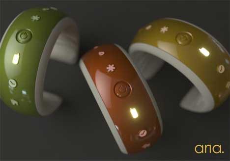 tactile bracelet gives stylish alerts for deaf fashionistas gadgets science technology. Black Bedroom Furniture Sets. Home Design Ideas