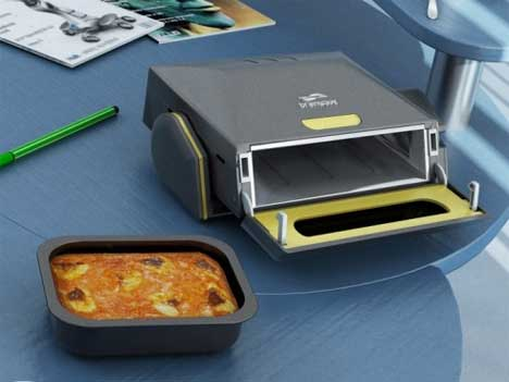 Feed your mind cook an office lunch right at your desk - Mobile porta microonde ...