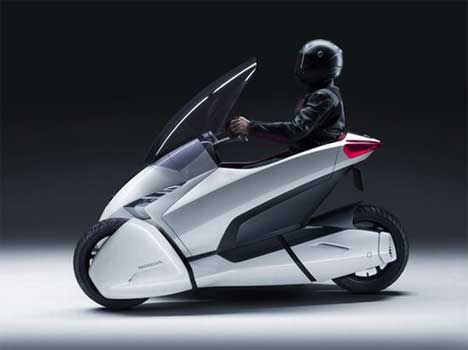 Urban transport motorcycle makes third wheel feel useful gadgets are publicscrutiny Choice Image