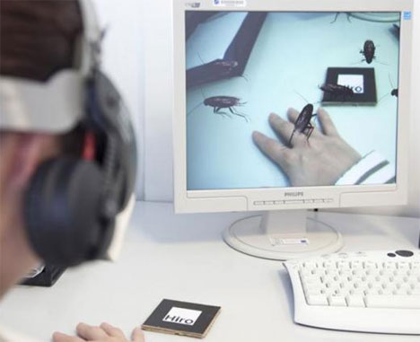 Bugged Out: Augmented Reality Insects Help Beat Phobia | Gadgets ...