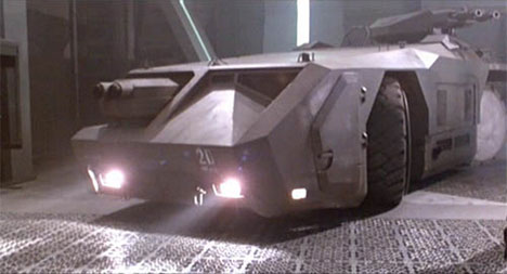 Wheels In Motion Pictures 10 Phenomenal Sci Fi Cars
