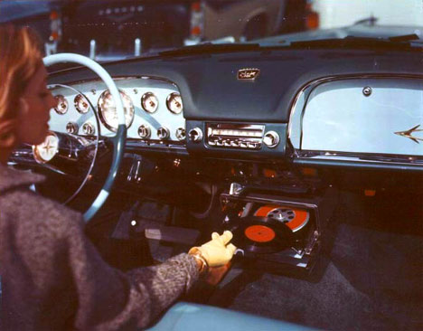 Road Tunes Weird Vintage 1950s In Car Record Players