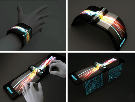 The Future of Mobile Gadgets: Flexible Wrist Computer ...