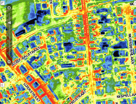 Spying, Superman Style: Infrared Maps of Belgian 'Hoods   Gadgets