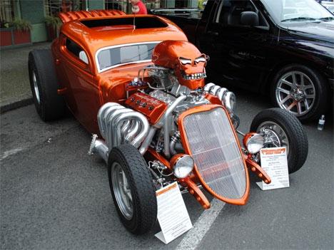 Chevy V8 Engine  BBQ Grill  CarZi