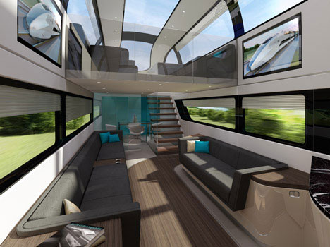 Double Decker Rail Devil: Super-Fast British Train Concept ...