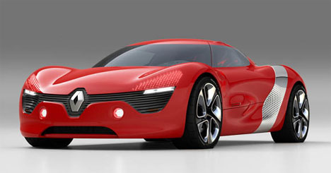 Renaults Juicy Concept SuperQuickCharging Electric Car - Cool french cars