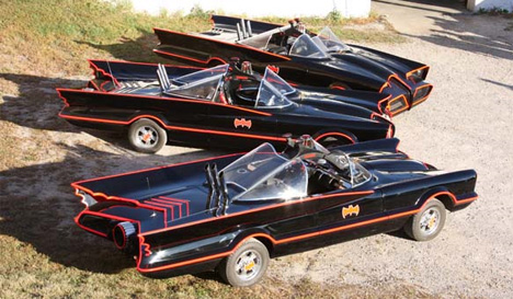 Holy Flaming Bat Car Ultra Detailed Drivable Batmobiles