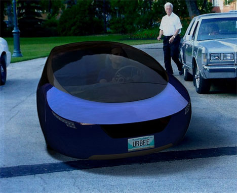 The Urbee Hybrid The First 3 D Printed Car