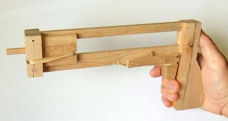 Timber Jenga Gun Is Great Fun But Technically Cheating