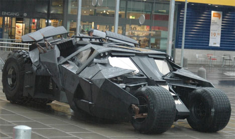 Batman Tech Comes to Life: Military Tank Based on Tumbler | Gadgets on how to build gundam, how to build beyblades, how to build ghostbusters,