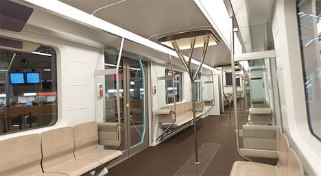 subway cars get a little polish recyclable eco carriages gadgets science technology. Black Bedroom Furniture Sets. Home Design Ideas