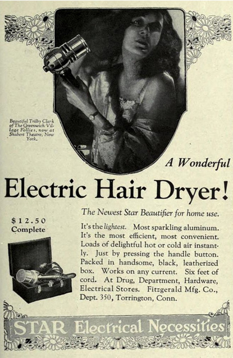 A Lot Of Hot Air 90 Year Evolution Of The Home Hair Dryer