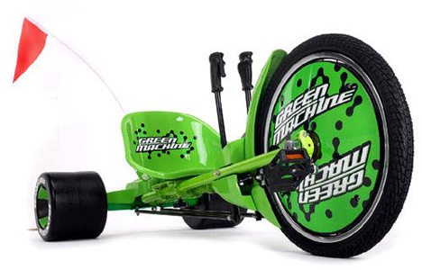 green machine bike for adults