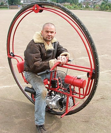 Wheel Of Misfortune Historic Failure Of The Monowheel