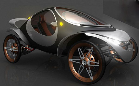 Automobile Design Is Definitely Leaning Toward Electric Vehicle These Days So It Makes Sense That Designers Would Start Thinking About Refining And