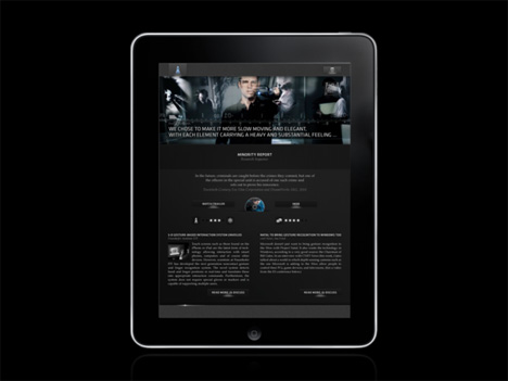 from movies to reality ipad app turns scifi into sci