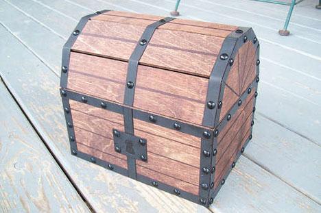 geek treasure diy legend of zelda chest with sound gadgets science technology. Black Bedroom Furniture Sets. Home Design Ideas