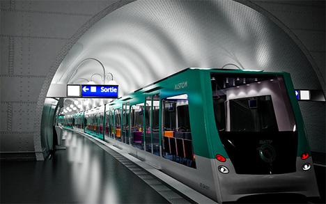Soul Train Modern Sophisticated Subway Car Concept