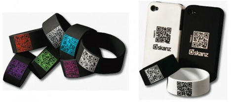 Future of business cards hi tech wearable contact info gadgets outgrown the traditional business card format a company called skanz wants to take the stress out of connecting with people by giving you a futuristic colourmoves