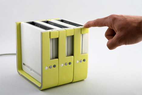 Breakfast Made Simple Toaster Grows With Your Family