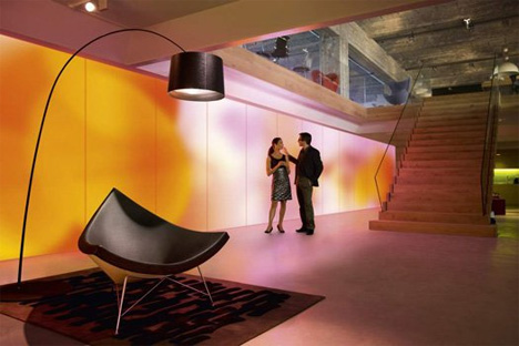 Glowing Wallpaper Makes Room Design Totally Customizable