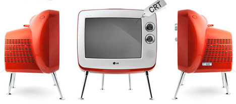 fun with re runs lg s retro tastic crt television set gadgets