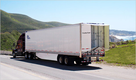 Happy Tails Simple Flaps Give Trucks Fuel Efficient Wings
